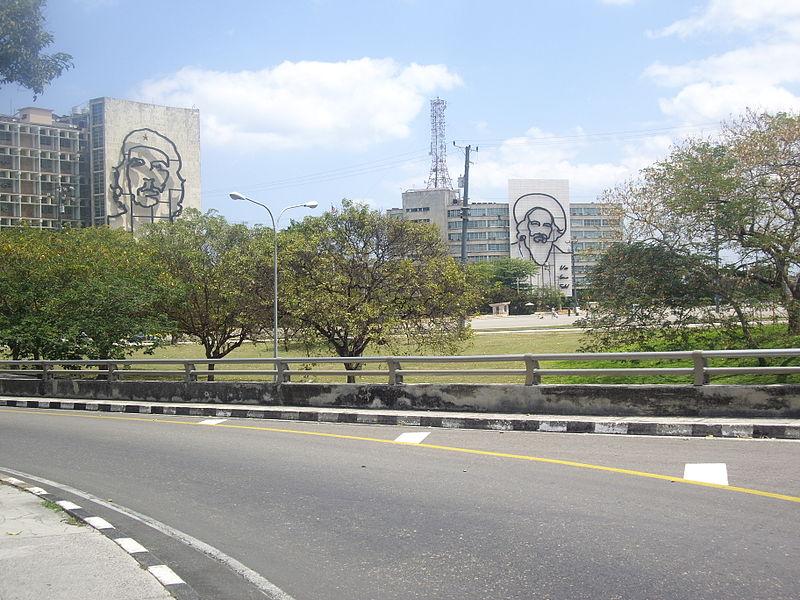 la habana plaza de la revolucion cubana