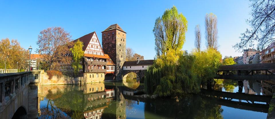 Río Pegnitz - Puente del Verdugo - Núremberg